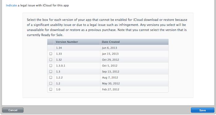 Apple разрешила устанавливать старые версии приложений