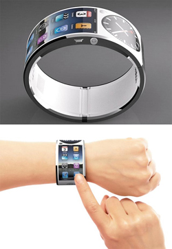 Apple iWatch гибкий OLED