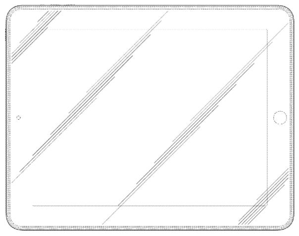 Apple таки получила патент на прямоугольник со скруглёнными уголками
