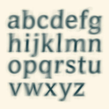 Averia: самый средний шрифт