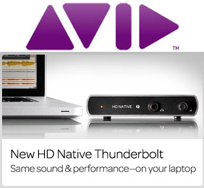 Avid Audio и RSPE Audio Solutions представили звуковой интерфейс Avid Thunderbolt HD | Native Interface