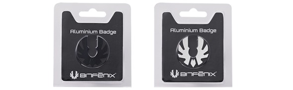 самоклеющиеся алюминиевые значки BitFenix