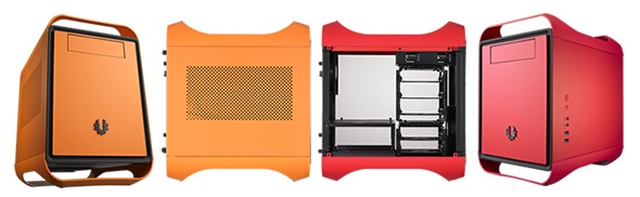 BitFenix окрашивает корпуса Prodigy в «огненный красный» и «атомный оранжевый» цвета