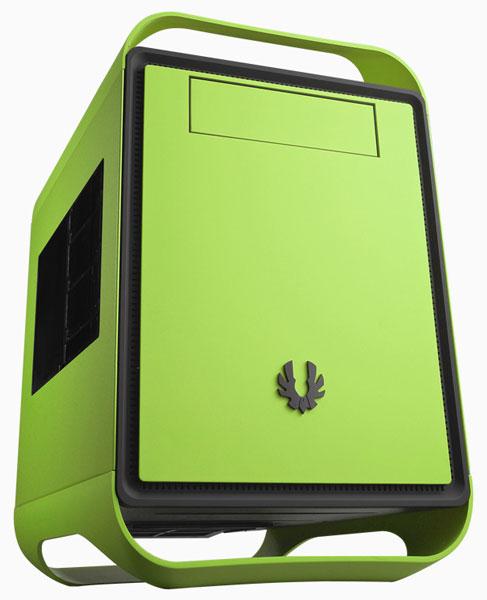 BitFenix расширяет гамму корпусов Prodigy вариантами Vivid Green и Cobalt Blue