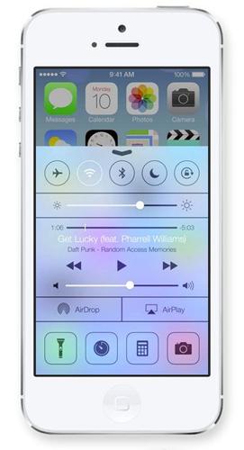 Blur в iOS7