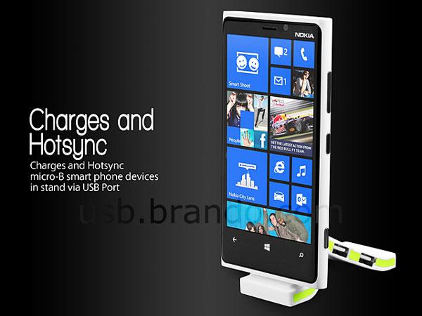 Цена устройства USB Micro-B SyncCharger Stand with Hub составляет $12