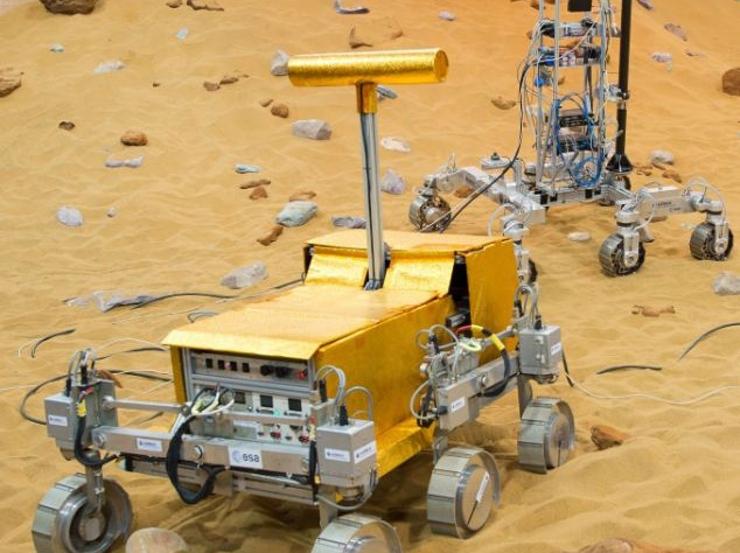 Bridget и Bryan: новейшие прототипы марсохода от ESA