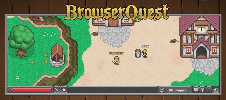 BrowserQuest — многопользовательская игра на canvas