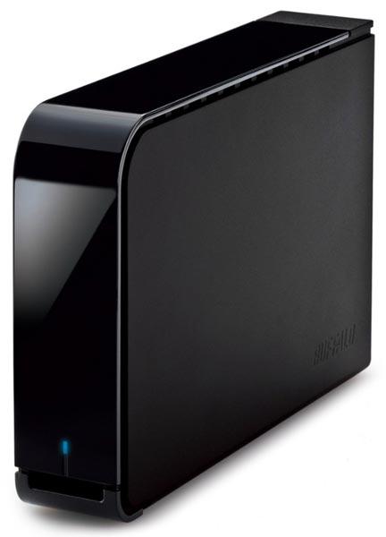 Buffalo объединяет в накопителе HD-LXV4.0TU3C жесткий диск объемом 4 ТБ и интерфейс USB 3.0