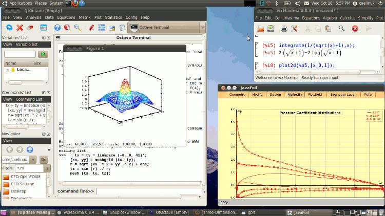CAELinux: дистрибутив Linux для инженеров