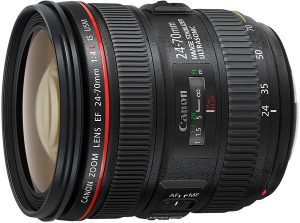 Рекомендованная цена объектива Canon EF 24-70mm f/4L IS USM в США — 1499 долларов