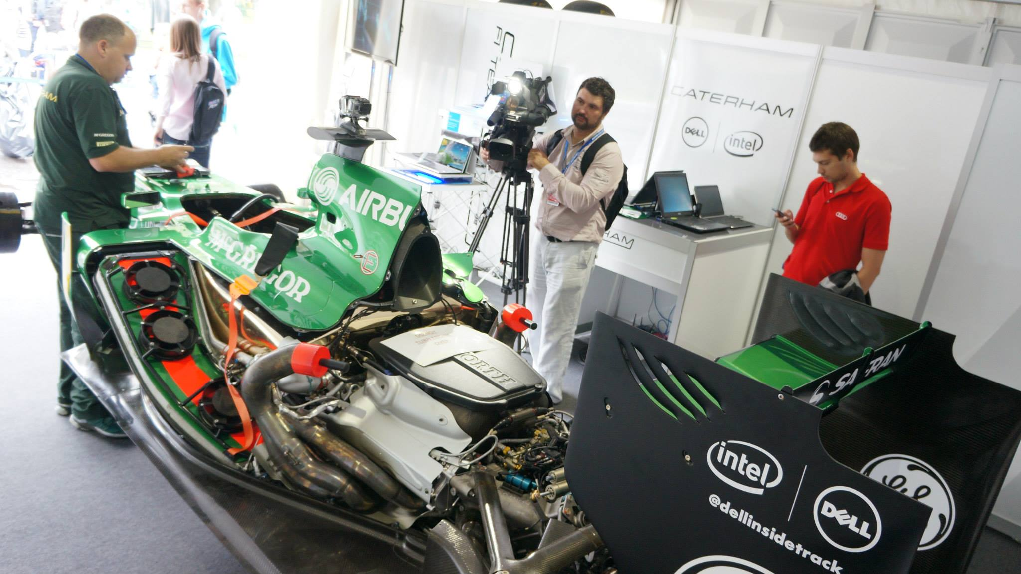 Caterham F1 Team & Dell @ Moscow City Racing 2013