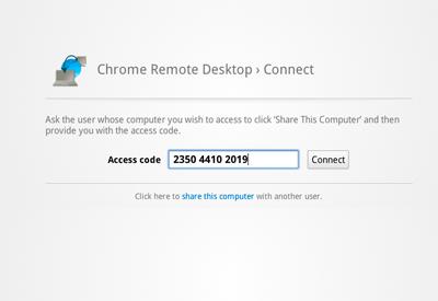 Chrome Remote Desktop вышел из беты