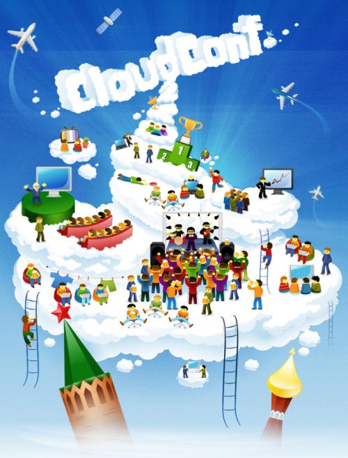 CloudConf 2012: май затянет «облаками»