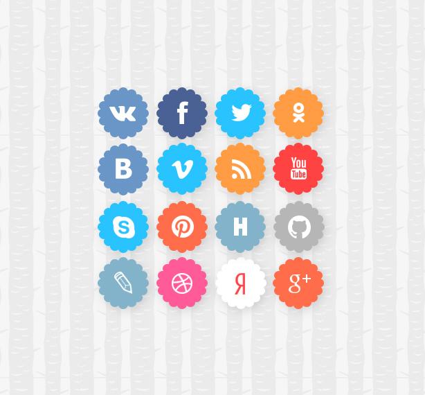 Code.Pack: набор социальных иконок