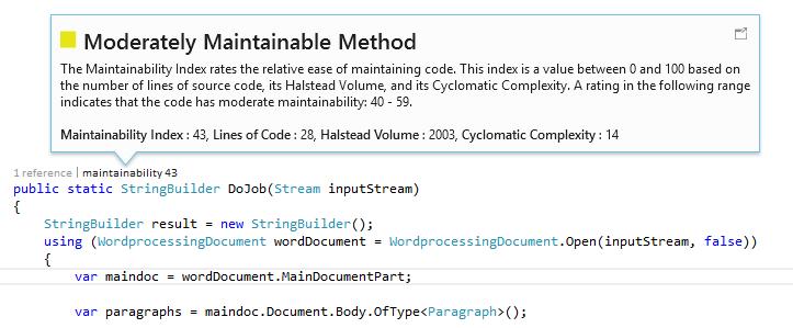 CodeLens в Visual Studio 2013