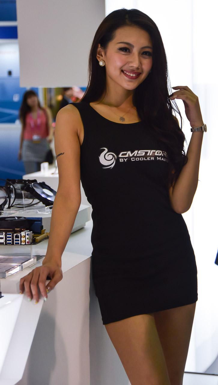 Computex 2013. Девушки с выставки