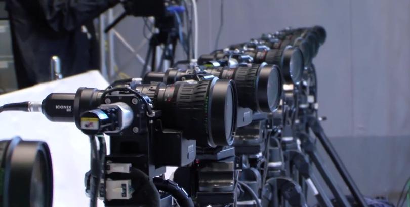 Cпецэффекты в стиле «Матрицы» для спортивных телетрансляций