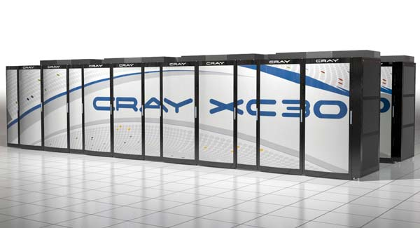 Cray XC30 — первый суперкомпьютер Cray на процессорах Intel Xeon