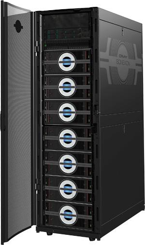 Пропускная способность хранилища Cray Sonexion 1600 превышает 1 ТБ/с
