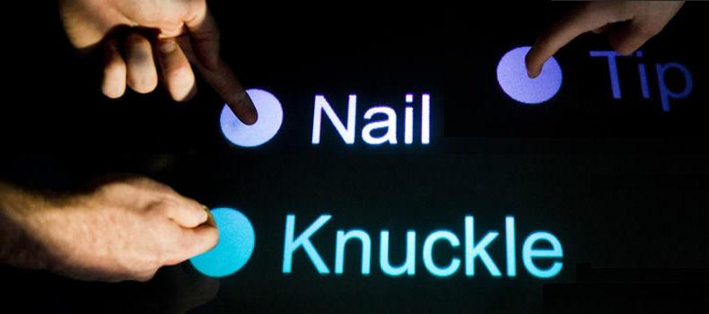 Cтучите и отворят вам: смартфоны научатся распознавать пальцы, ногти и костяшки