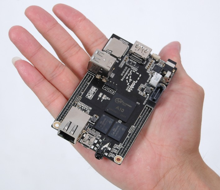 Cubieboard — достойный соперник Raspberry Pi
