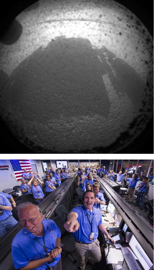 Curiosity — первые 50 дней на Марсе