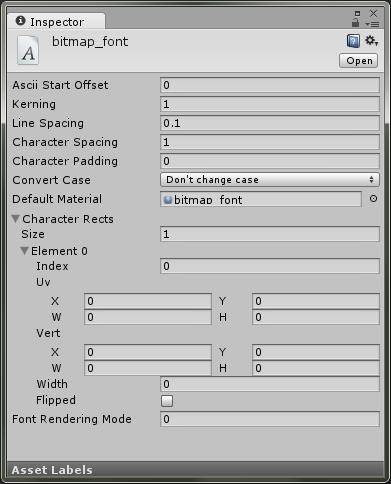 Custom font в Unity3d