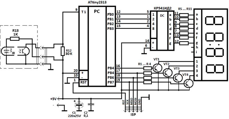 Оптопары фотодиоды ик приемники электрические схемы.