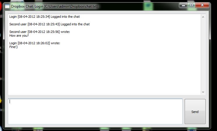 Dropbox Chat