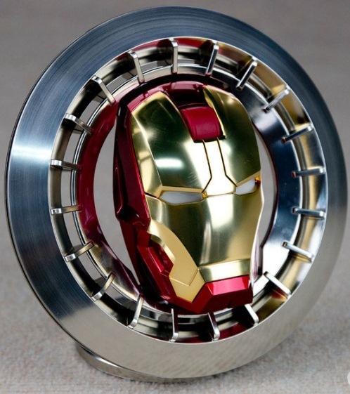 E-3lue Iron Man
