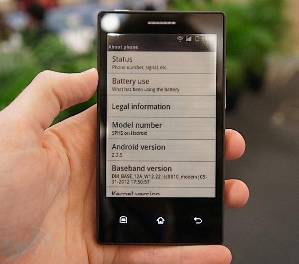 Основой прототипа телефона с экраном E Ink стал процессор на ядре Cortex-A5