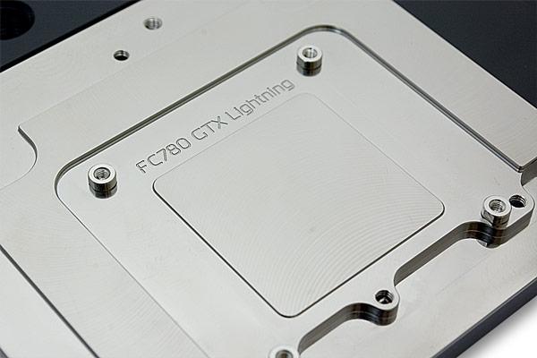 Цена водоблока EK-FC780 GTX Lightning - Acetal+Nickel примерно равна 120 евро