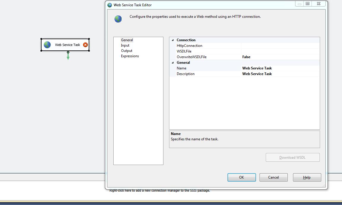 ETL процесс с использованием веб сервисов в Integration Services 2012
