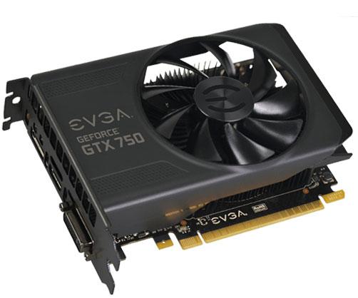 EVGA представила сразу восемь моделей 3D-карт GeForce GTX 750 Ti и GTX 750