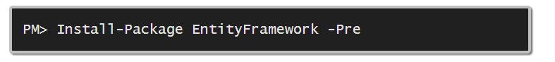 Entity Framework 6 — ALPHA