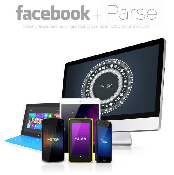 Facebook купил бэкенд Parse для сторонних мобильных приложений