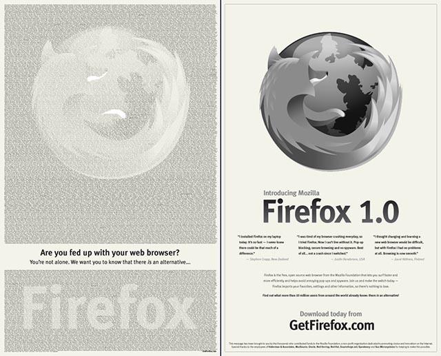 Firefox исполнилось 10 лет