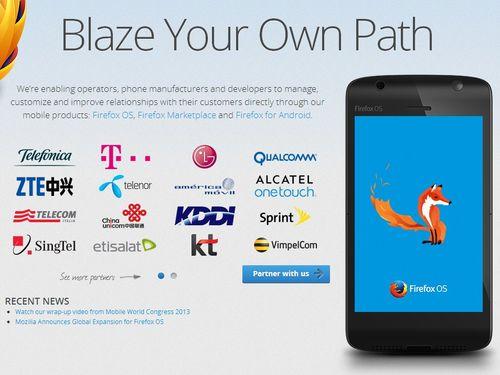 Foxconn скоро покажет устройство, работающее под управлением Firefox OS
