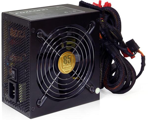 Дебютная линейка блоков питания Foxconn D-Series включает модели мощностью 450, 550, 650 и 750 Вт