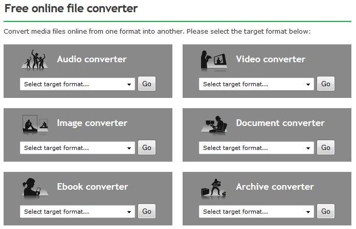 Free online file converter или конвертируем «все во все»