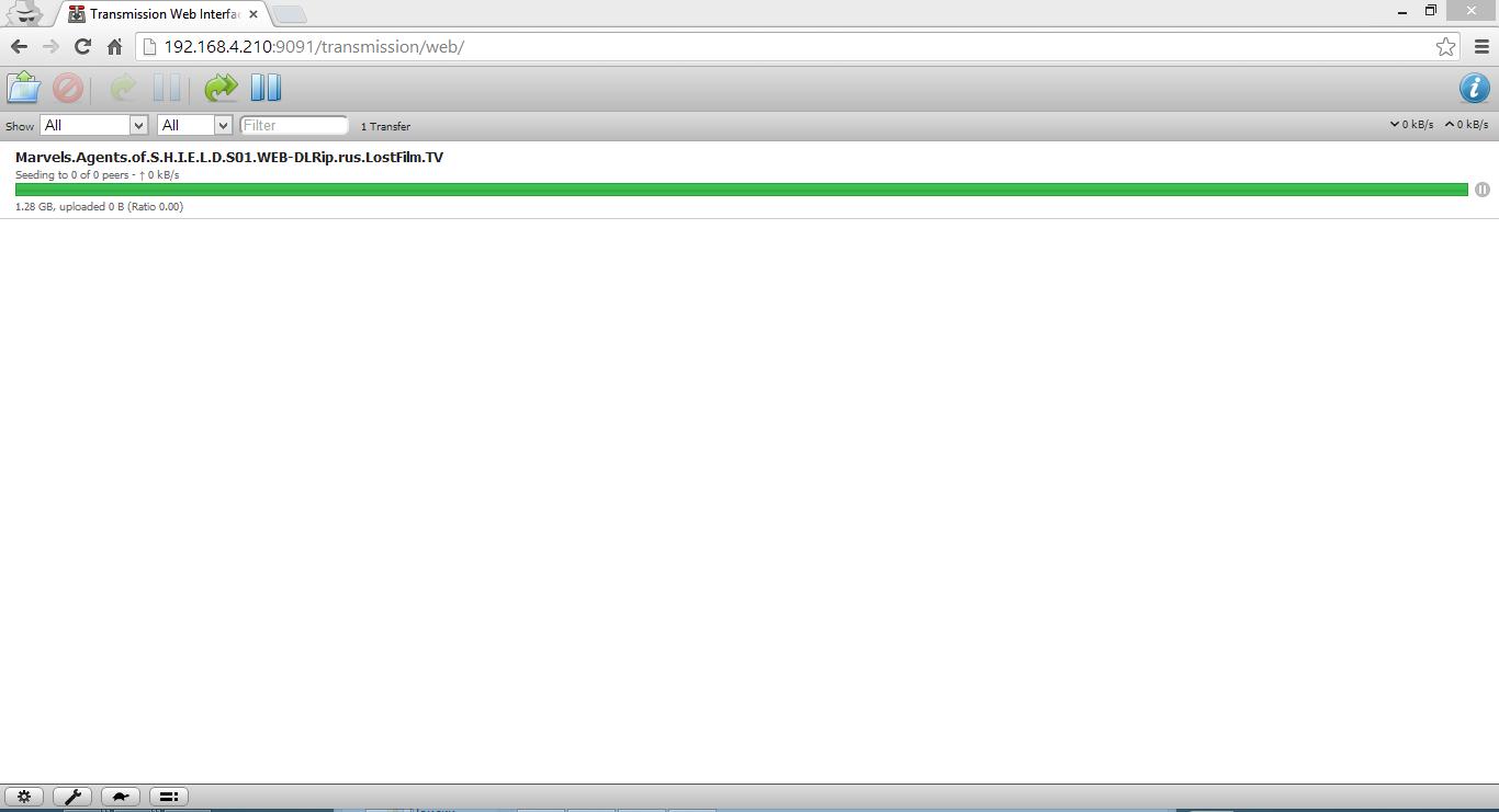 FreeNAS 9.1.1 — создаем сетевое хранилище. Часть 2. Установка transmission