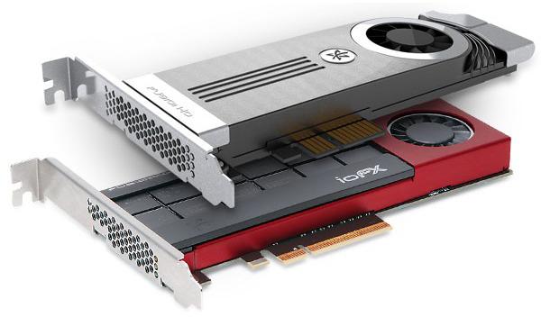 Твердотельный накопитель Fusion-io ioFX объемом 1,6 ТБ для рабочих станций выполнен в виде низкопрофильной карты расширения PCI Express