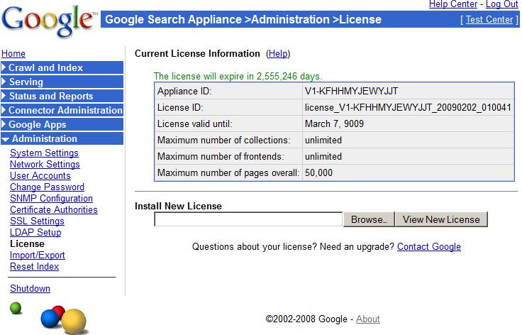 GSA: Препарируем Google Search Appliance в виртуальной машине
