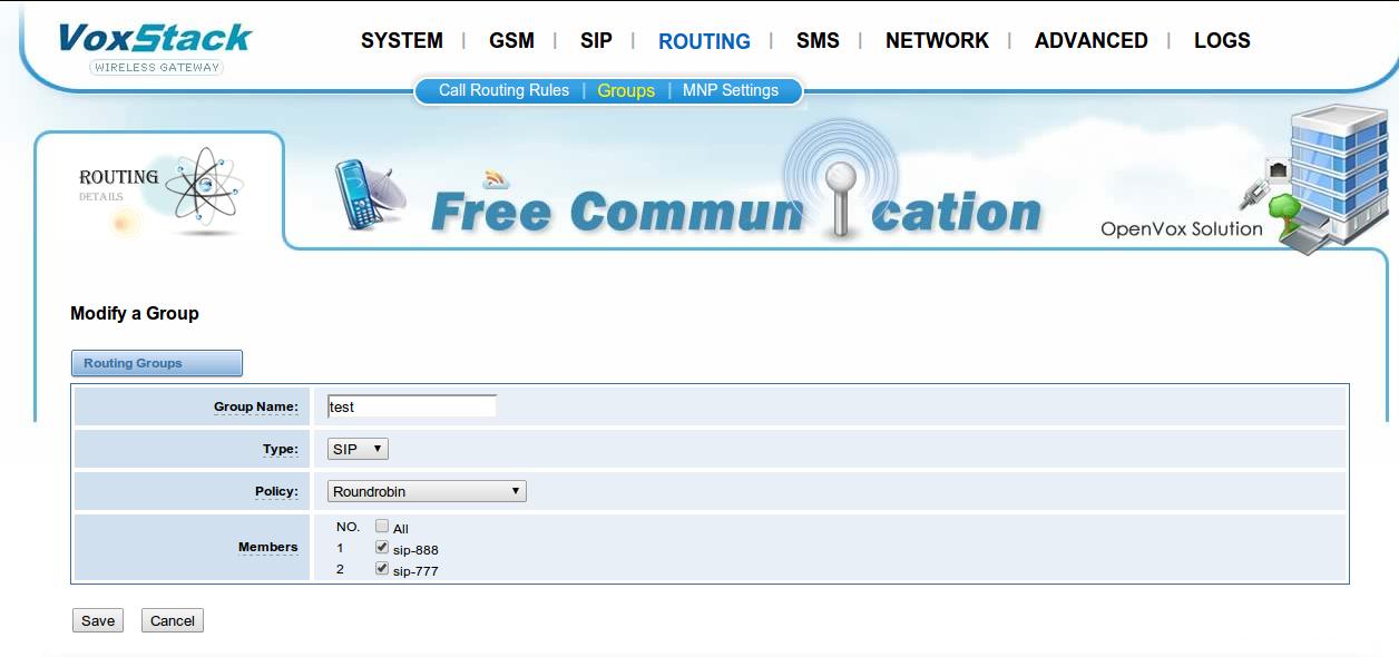 GSM шлюз OpenVox как полноценная замена АТС
