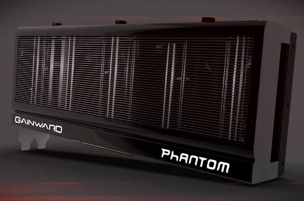 Для 3D-карты Gainward GeForce GTX 780 система охлаждения Phantom несколько доработана