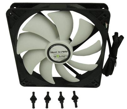 Gelid Solutions выпускает корпусные вентиляторы Silent 4, 7, 14 и 14 PWM
