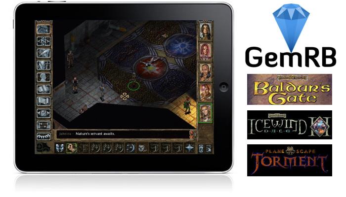 GemRB — играем в игры серии Baldurs Gate, Icewind Dale и Planescape: Torment на iPhone и iPad