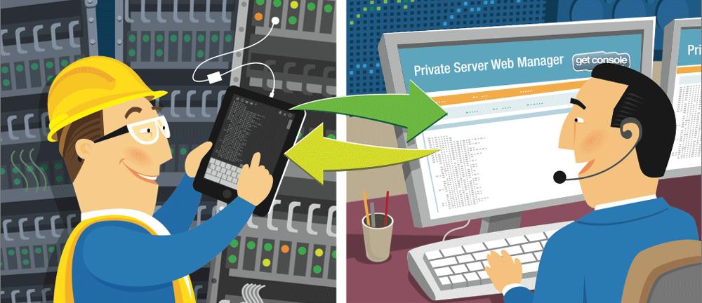 Get console Private Server. Удаленное администрирование сети