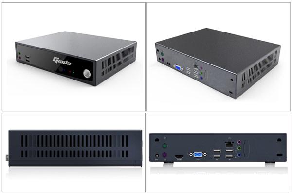 Системная плата Giada D310 имеет два слота SO-DIMM